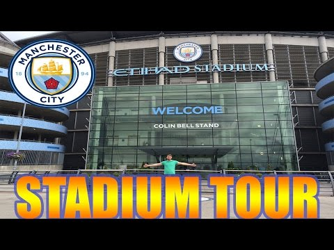 ETIHAD STADIUM TOUR! MANCHESTER CITY!