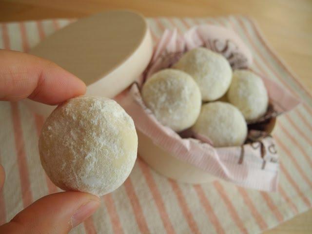 レシピ スノー ボール クッキー