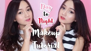 Day to Night Makeup Tutorial and Maybelline Rosy Matte Lipstick [REVIEW + SWATCHES]