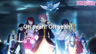 Fairy Tail Opening 1 Tv Size Karaoke - Funkist Snow Fairy