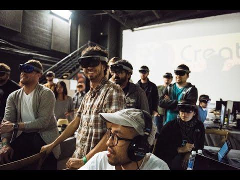 VRLA School: Holographic Hackathon Recap Video