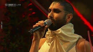 """Conchita singt die """"Ode an die Freude"""" von Ludwig van Beetho..."""