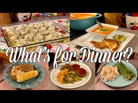 What's for Dinner| Easy Budget Friendly Family Meal Ideas| December 2020