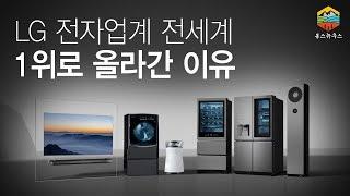 LG 전자업계 전세계 1위 등극, 그 이유는 무엇일까?