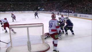 сКА - ЦСКА 7-1 - Обзор Матча Чемпионата КХЛ (России) 01/03/2012 HD