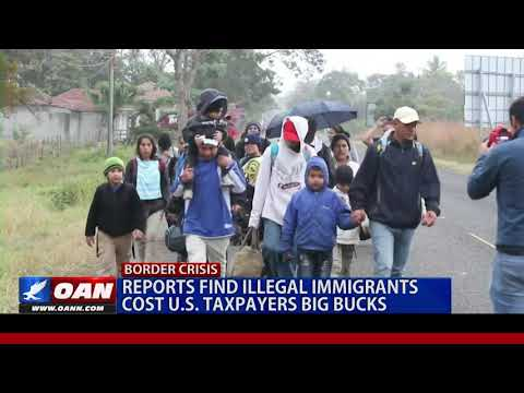 Reports find illegal immigrants cost U.S. taxpayers big bucks