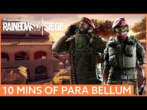 10 minutes of Rainbow Six Siege Operation Para Bellum gameplay - Alibi and Maestro