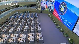 Владимиру Путину доложили о результатах боевых действий в Сирии