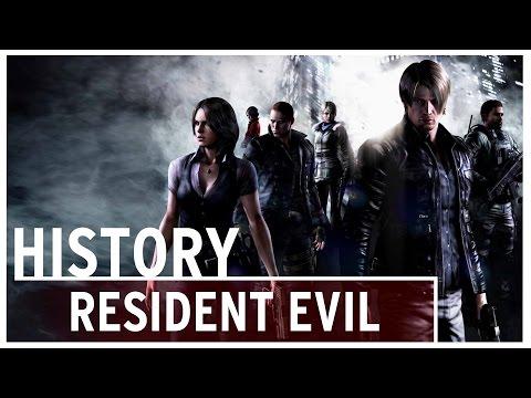 History of - Resident Evil/Biohazard (1996-2017)