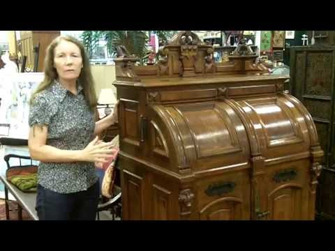 Antique Wooton Desk, Antique Furniture From Our Antiques Mall At Gannon's Antiques & Art