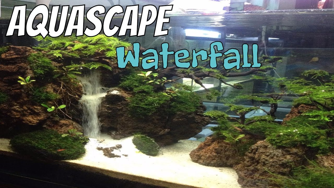 Aquascape Air Terjun Waterfall Background Music Instrumental Relaxing By Relaxing Aquascape