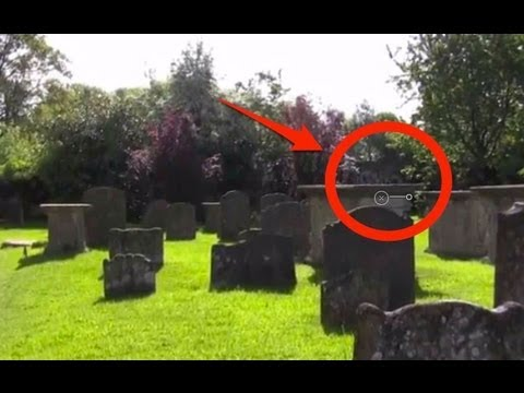 Ghost Caught On Tape In Haunted England Cemetery By