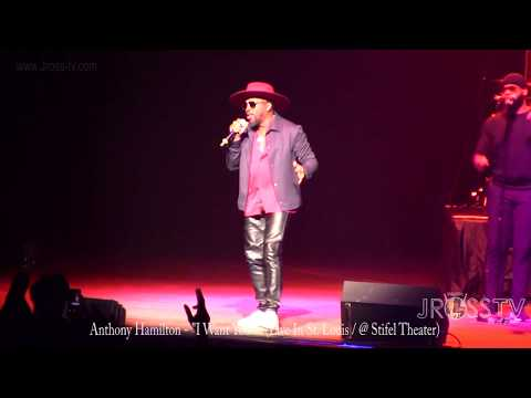 "James Ross @ Anthony Hamilton - ""I Want You / Live In The LOU"" - www.Jross-tv.com (St. Louis)"
