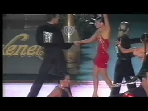 The 1999 IDSF Spanish Open Latin (Barcelona) starring Mathew & Nicole Cutler