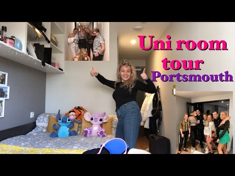 Room Tour After First Year// Chaucer House Uni Of Portsmouth// Moving Out :(
