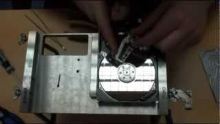Hard Drive Head Replacement - Seagate Baracuda 7200.10 (VIDEO)