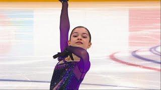 Аделия Петросян Короткая программа Девушки Финал Кубка России по фигурному катанию 2020 21