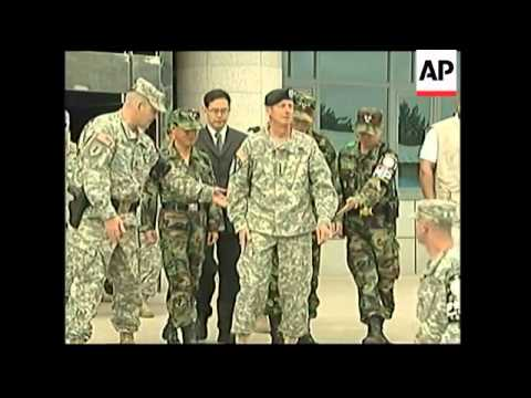 New US commander to SKorea visits Panmunjom
