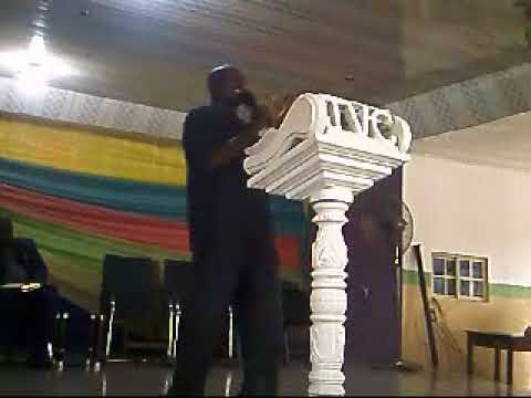 rev. freeseed @ easter day with pastor benson @ jesus victorious church inc. benin city