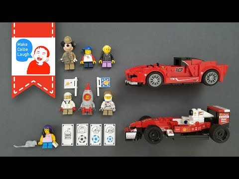 Jobs for kids children with lego minifigures fortune teller pilot astronaut racer inspector