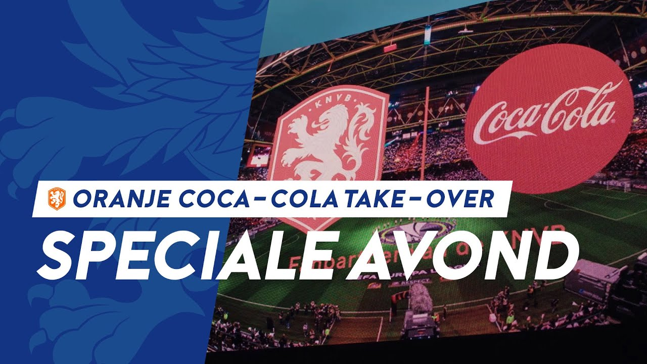 Coca Cola, KNVB, Tribe Sports & Show Rental