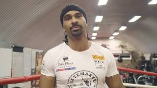 David Haye final session done before Tony Bellew