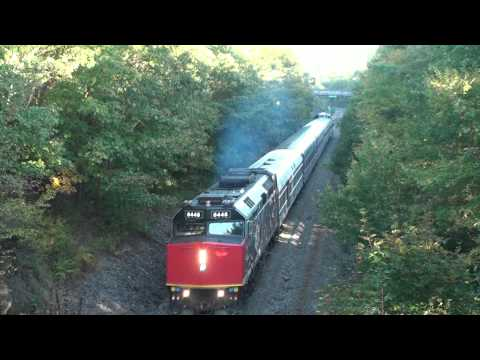 Grey Cup train leaves Halifax under its own power as VIA#3 13 October 2012