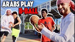 Epic Street Basketball Match!!! (ARAB PRINCE vs. STRANGERS)