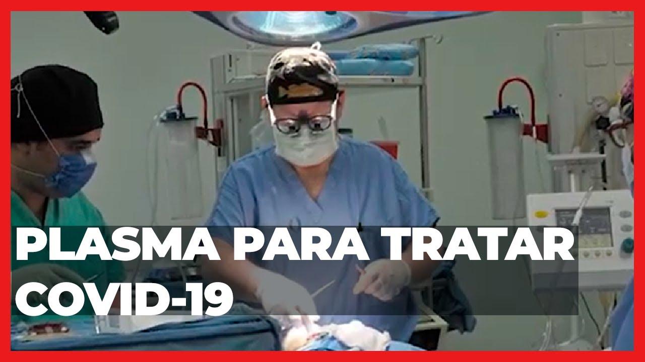Plasma para tratar COVID 19   Las Noticias Puebla