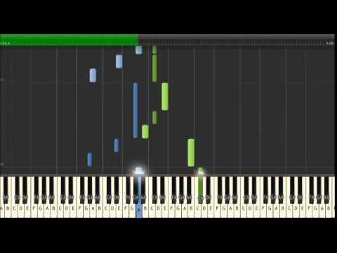 Wim Mertens - Close cover - Tutorial piano Synthesia
