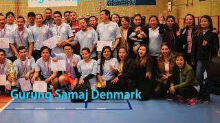 3rd onf volleyball tournament 2017 1st gurung samaj denmark