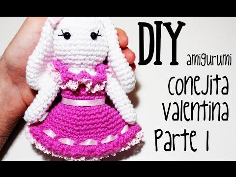 Amigurumi Conejo Paso A Paso : Diy conejita valentina parte amigurumi crochet ganchillo