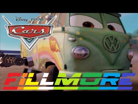 Cars 2 - Fillmore ( Friend From Lightning McQueen & Mater & Finn McMissile )