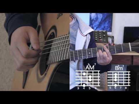 [Awesome Guitar] Breathe - Lee Hi Guitar Lesson Level ★ ★ ☆ ☆ ☆