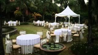 DIY Cheap outdoor wedding party ideas