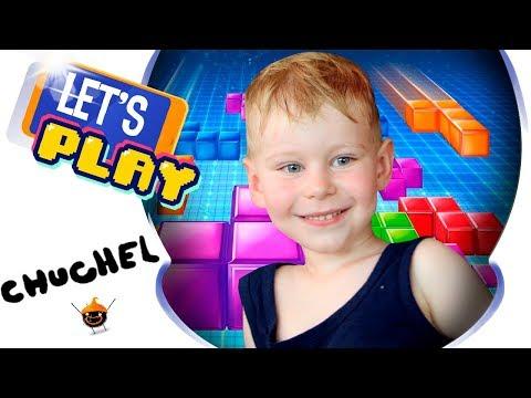 Chuchel | Чучел прохождение игры - Tetris | Тетрис с бомбами часть 5