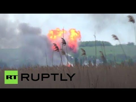 Slavyansk firefight video: