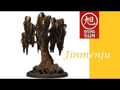 Rising Sun Painting: Jinmenju