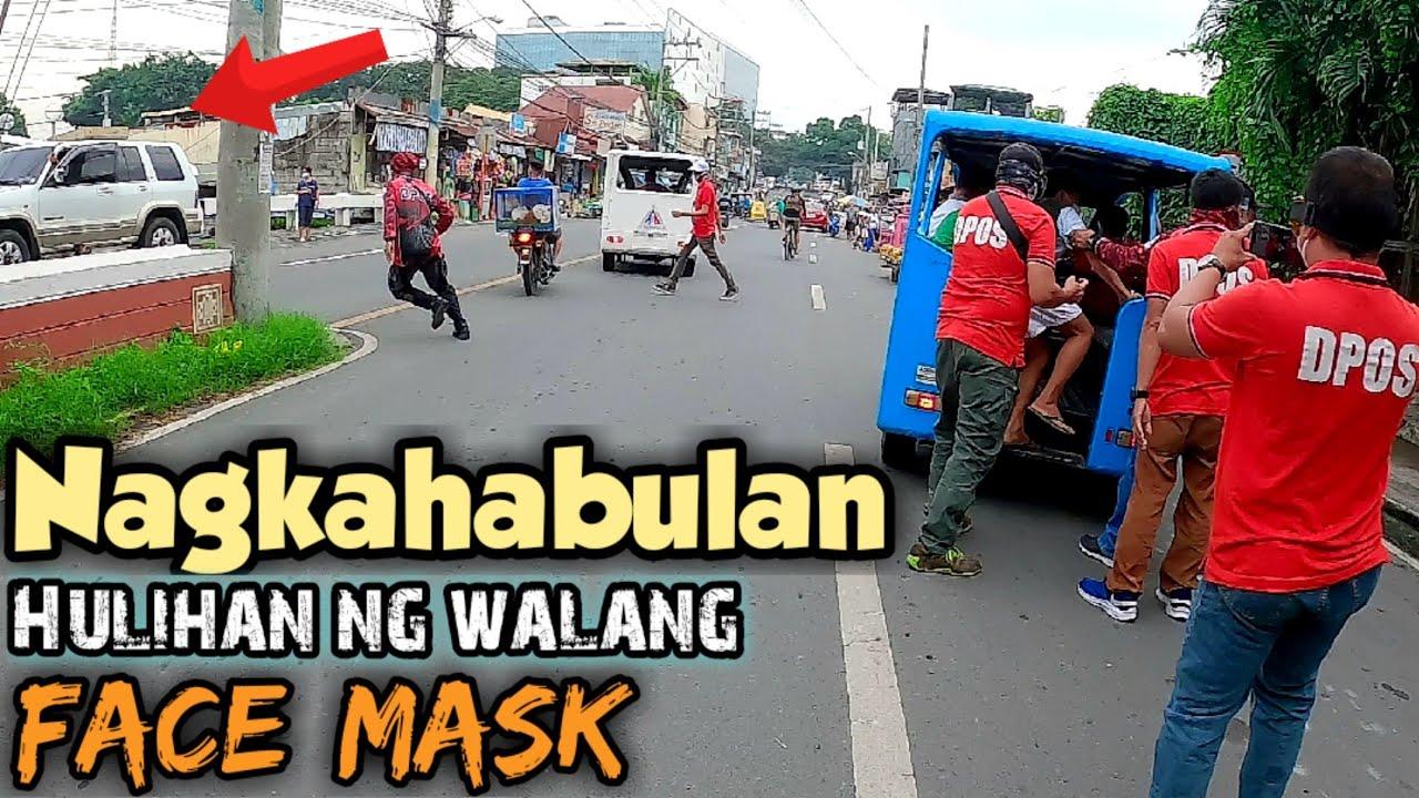 Ganito kadami ang mga nahuli dahil sa Face*Mask