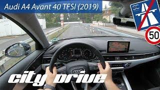Audi A4 Avant 40 TFSI (2019) - POV City Drive
