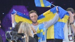 Måns Zelmerlöw(Швеция) - победитель Евровидения-2015 в Австрии