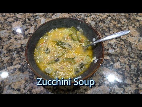 Italian Grandma Makes Zucchini Soup