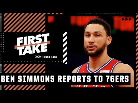 Stephen A. reacts to Ben Simmons reporting to the 76ers   First Take
