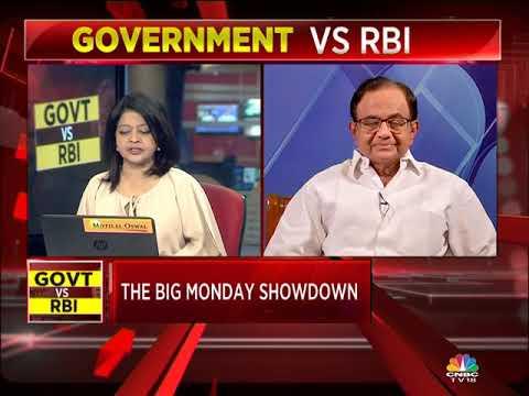 P Chidambaram On RBI's Important Meeting On Nov 19