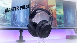 Cooler Master MasterPulse Over Ear Headset Review, with Bass FX, Best cheap gaming headset?