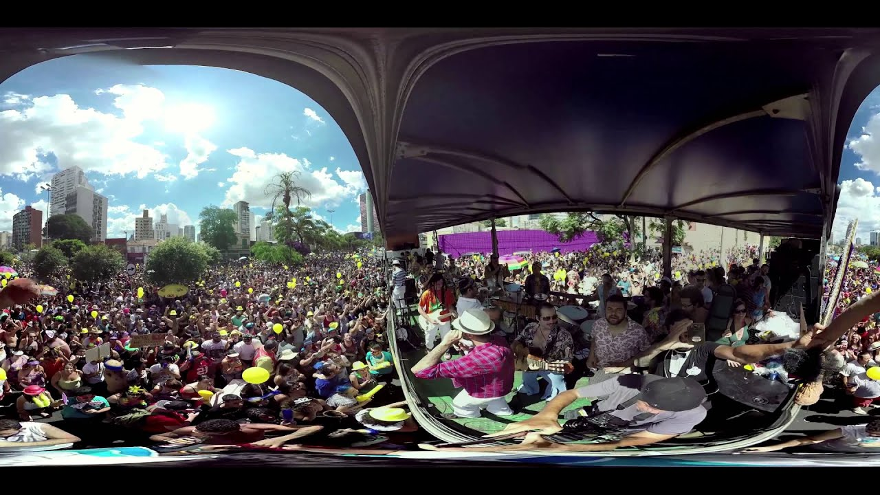 Hermes e Renato video 360º Pira Pira Piro ao vivo no bloco Bregsnice