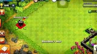 Clash of clans| Builder hut glitch|