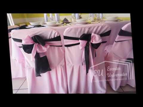 Tipos de mo os para decoraci n de sillas eventos for Sillas para eventos