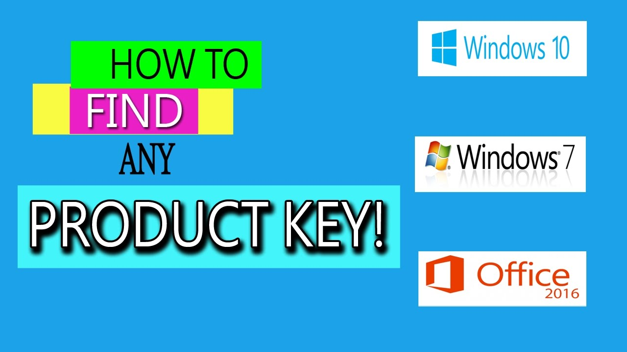 How to Find Your Windows 7 Product Key Easy