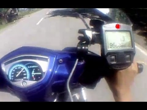 Yamaha Sniper 135LC Crypton X with Speed and RPM every gear